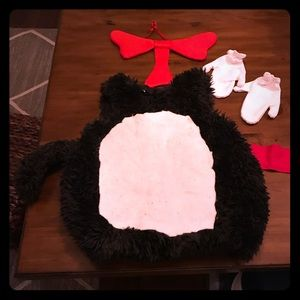 Toddler Costume - The Cat in the Hat - Halloween